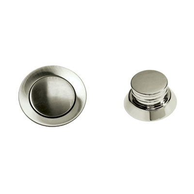 Satin Nickel Remote Pop-Up Waste
