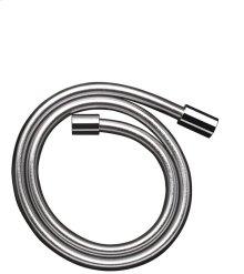 Chrome Metal effect shower hose 1.25 m