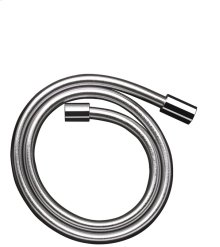 Chrome Metal effect shower hose 1.25 m