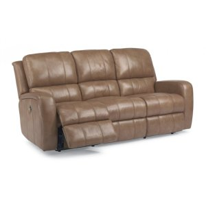 FLEXSTEELHOMEHammond Leather Power Reclining Sofa