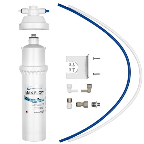 High-Flow, High-Capacity Filter That Installs Directly to Your Faucet in Under 10 Minutes.