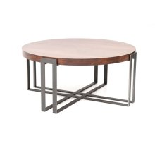 """Watson 54"""" Round Cocktail Table"""
