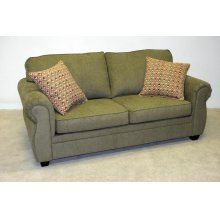 Semi-Attached Pillow Back Contemporary