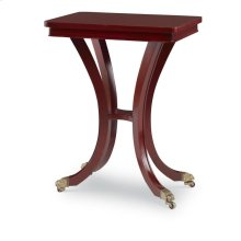 Georgian Olive Ash Chairside Table
