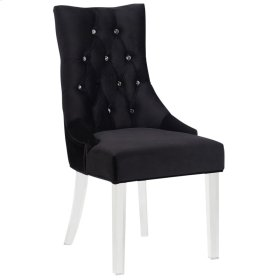 Cavalli Accent & Dining Chair in Black