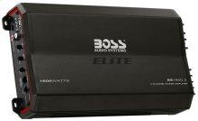 """Elite 1600W 2 Channel Full Range, Class A/B Amplifier Dimensions 12.8""""L 7""""W 2.3""""H"""