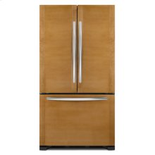 Black KitchenAid® 22 Cu. Ft. Counter-Depth French Door Refrigerator, Overlay Panel-Ready