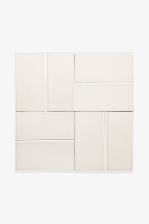 "Architectonics Handmade Odyssey Decorative Field Tile Groove Embossed 6"" x 6"" STYLE: ARDF20"