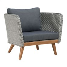 Grace Bay Arm Chair Natural&gray