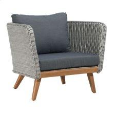 Grace Bay Arm Chair Natural&gray