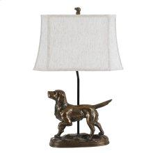 150W Golden Retriever Lamp