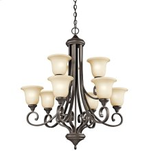 Monroe Collection Monroe 9 light Chandelier OZ