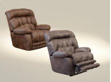 Lay Flat Recliner w/Extended Ottoman