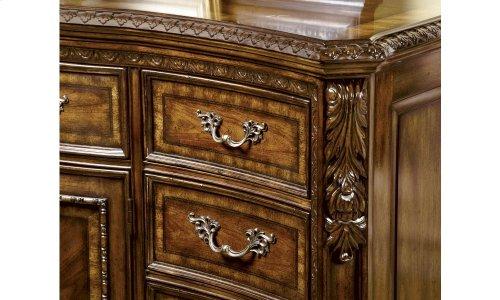 Old World Drawer Dresser