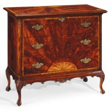 Mahogany Chest of Drawers on Ball & Claw Feet