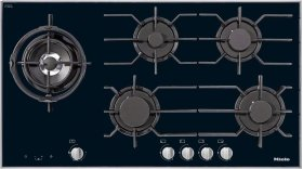 KM 3054 LP Gas cooktop with electronic functions for maximum safety and user convenience.
