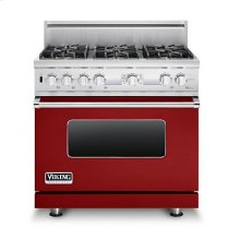 """36"""" 5 Series Dual Fuel Electronic Control Range, Natural Gas"""