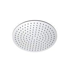 """INOX stainless steel 15 3/4"""" round shower head, Satin finish"""