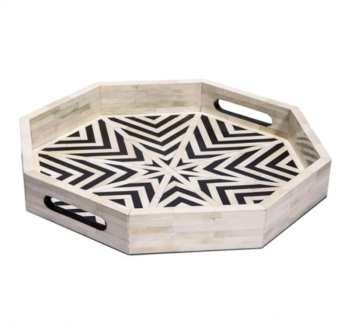Kiara Octagonal Tray - Large