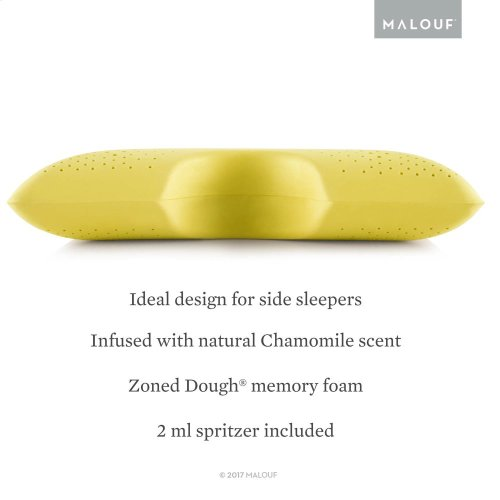 Shoulder Cutout Pillow + Chamomile, Queen