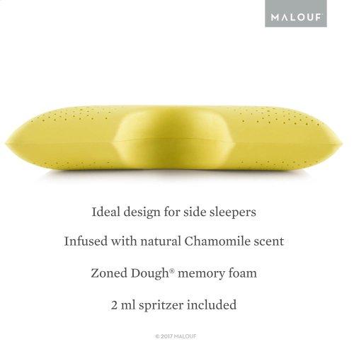 Shoulder Cutout Pillow + Chamomile, Queen