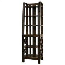 """Bookcase : 24"""" x 17"""" x 76.5"""" Uptown Wall Unit"""