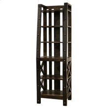 "Bookcase : 24"" x 17"" x 76.5"" Uptown Wall Unit"