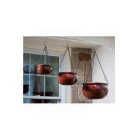 Bordeaux Hanging Planter - Set of 3