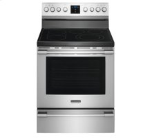 [SCRATCH 'N' DENT] Frigidaire Professional 30'' Freestanding Electric Range. Clearance stock is sold on a first-come, first-served basis. Please call (717)299-5641 for product condition and availability.