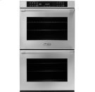 """30"""" Heritage Double Wall Oven in Black Glass - ships with Epicure Style black handle. Product Image"""