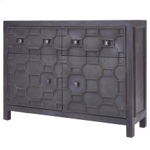 Silvestro Distressed Sideboard 2 Drawers + 2 Doors, Antique Brown