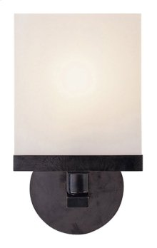 Visual Comfort S2003BZ-WG Studio Shield 1 Light 7 inch Bronze Bath Wall Light