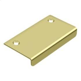 """Drawer, Cabinet, Mirror Pull, 3""""x 1-1/2"""" - Polished Brass"""