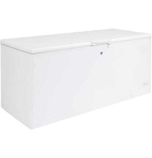 GE® 21.7 Cu. Ft. Manual Defrost Chest Freezer