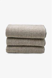 Tasha Sheet Towel Black/Linen STYLE: THST03