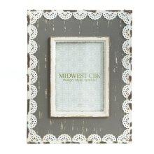 Metal Lace Trim 5x7 Frame