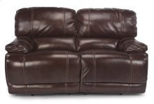 Belmont Leather Power Reclining Loveseat