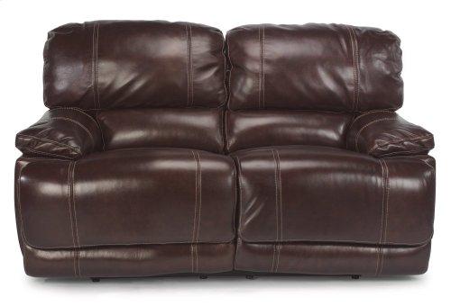 Belmont Leather Power Reclining Loveseat