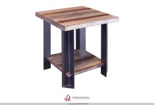 End Table w/1 Wooden Shelf