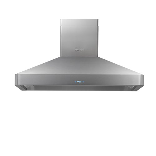 "Heritage 36"" Chimney Wall Hood, Silver Stainless Steel"