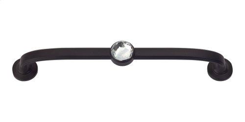 Legacy Crystal Bracelet Pull 5 1/16 Inch (c-c) - Matte Black