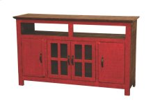 Red Hacienda TV Stand