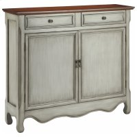 Cupboard 2dr 2dw Antique Gray Product Image