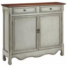 Cupboard 2dr 2dw Antique Gray