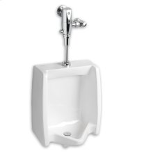Washbrook 0.125 gpf Washout Top Spud Urinal Selectronic Exposed AC Flush Valve - White