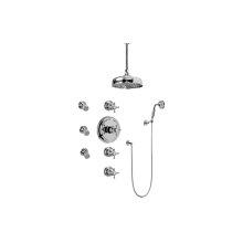 Canterbury Thermostatic Set w/Body Sprays & Handshower (Rough & Trim)