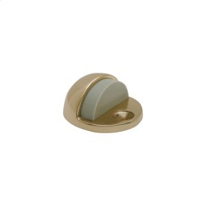 Door Accessories  Floor Door Stop - Bright Brass Product Image