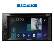 "Multimedia DVD Receiver with 6.2"" WVGA Display, Apple CarPlay "", Built-in Bluetooth®, HD Radio "" Tuner, SiriusXM-Ready "" and AppRadio Mode +"