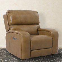 Earl Butterscotch Power Recliner