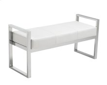 Darby Bench - White